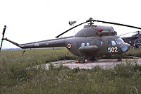 Helicopter-DataBase Photo ID:13627 PZL Mi-2 Air Force of the Socialist Federal Republic of Yugoslavia 12502 cn:541129069