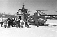 Helicopter-DataBase Photo ID:11587 Mi-1M Aeroflot CCCP-40457 cn:86800815