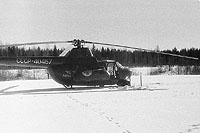 Helicopter-DataBase Photo ID:11588 Mi-1M Aeroflot CCCP-40457 cn:86800815