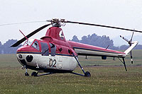 Helicopter-DataBase Photo ID:1164 SM-1Wb Central Aero Club 02 yellow cn:507011