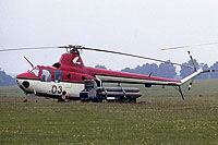 Helicopter-DataBase Photo ID:1165 SM-1Wb Central Aero Club 03 yellow cn:507033
