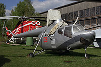 Helicopter-DataBase Photo ID:13979 Mi-1 Museum Monino 09 red cn:020309