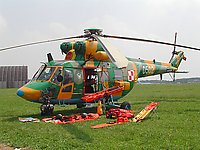 Helicopter-DataBase Photo ID:31 PZL W-3RL 2nd Transport-Liaison Aviation Squadron 0502 cn:310502