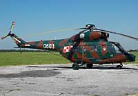 Helicopter-DataBase Photo ID:2680 PZL W-3W 66th Aviation Wing 0603 cn:360603
