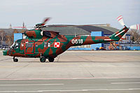 Helicopter-DataBase Photo ID:7836 PZL W-3WA (NS23 dismantled) 1st Transport Aviation Base 0618 cn:360618