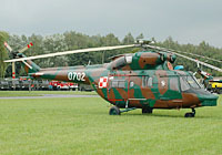 Helicopter-DataBase Photo ID:3420 PZL W-3WA (NS23 dismantled) 2nd Transport-Liaison Aviation Squadron 0702 cn:360702