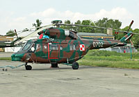 Helicopter-DataBase Photo ID:3471 PZL W-3WA (NS23 dismantled) 2nd Transport-Liaison Aviation Squadron 0702 cn:360702
