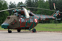 Helicopter-DataBase Photo ID:12334 PZL W-3WA (NS23 dismantled) 33rd Transport Aviation Base 0702 cn:360702