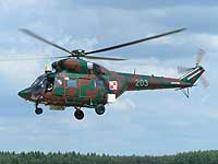Helicopter-DataBase Photo ID:607 PZL W-3 RR  Procjon 66th Aviation Wing 203 cn:300203