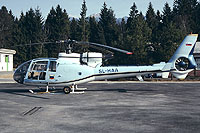 Helicopter-DataBase Photo ID:17303 HO-42 (SA-341H Gazelle) Slovenian Military Aviation SL-HAA cn:028