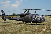 Helicopter-DataBase Photo ID:17488 SA-341G AF of Serbia and Montenegro 12635 cn:1242