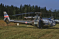 Helicopter-DataBase Photo ID:17485 HO-42 (SA-341H Gazelle) AF of the Socialist Federal Republic of Yugoslavia 12660 cn:028