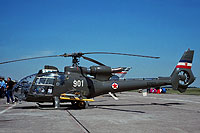 Helicopter-DataBase Photo ID:17483 HN-45M (SA-342L Gazelle) AF of the Socialist Federal Republic of Yugoslavia 12901 cn:111