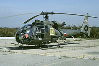 Helicopter-DataBase Photo ID:17300 HN-45M (SA-342L Gazelle) AF of Serbia and Montenegro 12936 cn:156