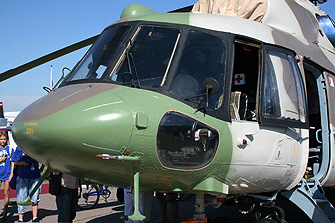 nose section Kazan built Mi-8